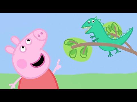 Świnka Peppa | Zagubiony pan Dinozaur | Bajki Po Polsku | Peppa po Polsku