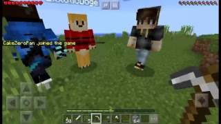MCPE WITH SUBS!!! COME PLAY WITH ME