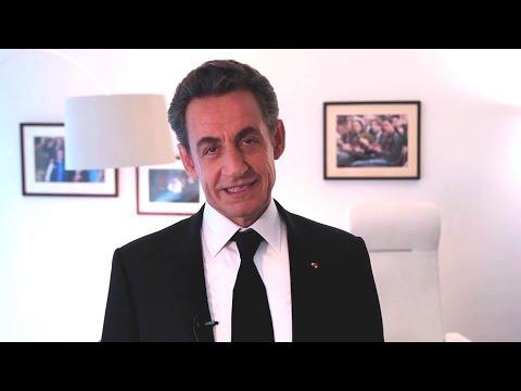 Nicolas Sarkozy vous souhaite ses meilleurs voeux pour l'année 2015