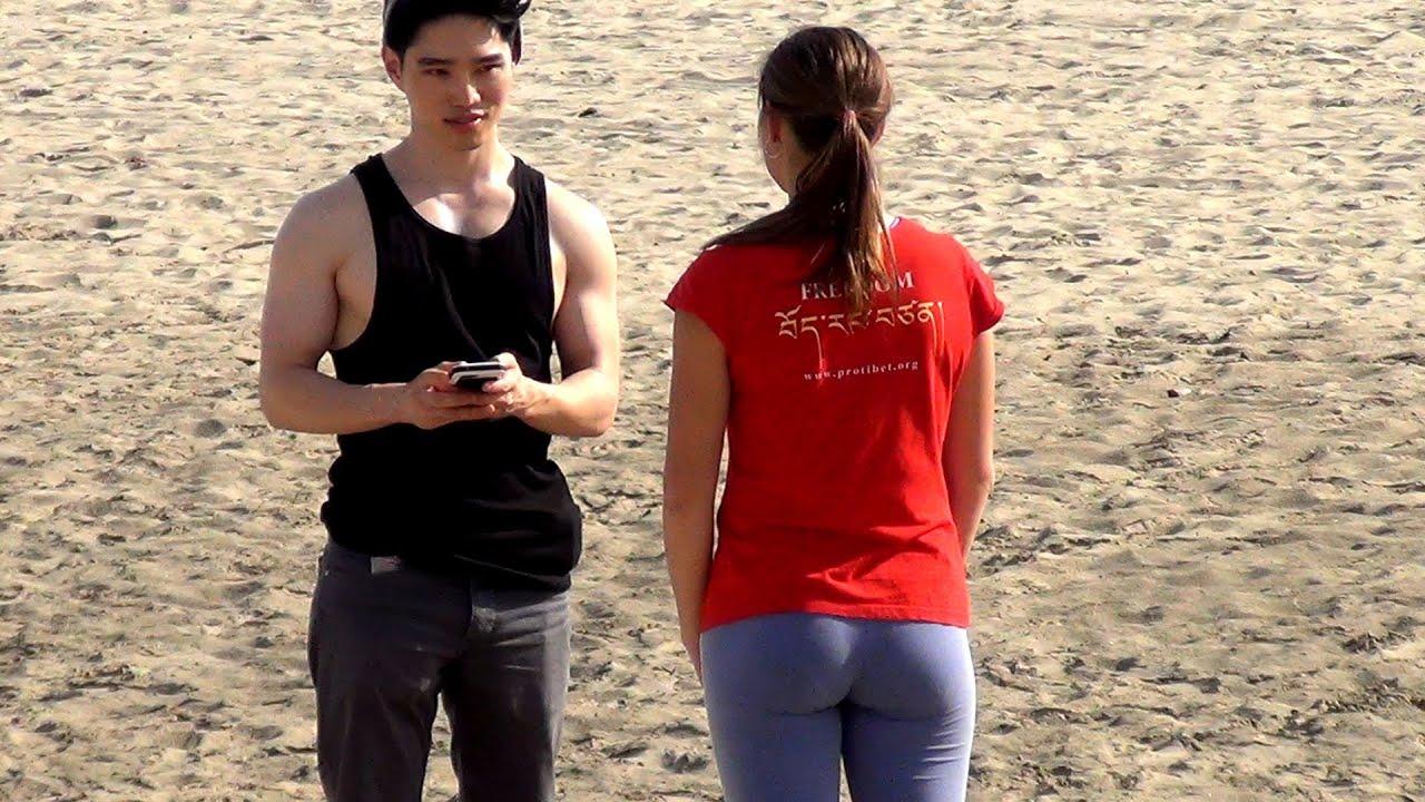 Asian men fuck white girl