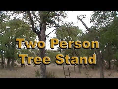 Two Man Tree Stand for Hunting