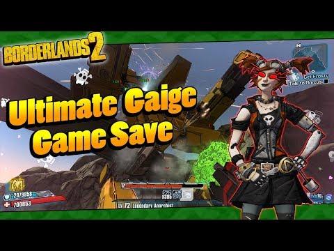 Borderlands 2   My OP8 Ultimate Gaige Game Save