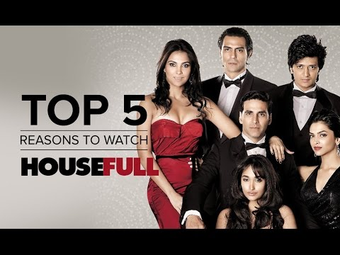 Top 5 Reasons To Watch Housefull | Akshay Kumar, Arjun Rampal, Ritesh Deshmukh & Deepika Padukone