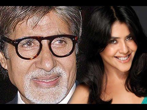Ekta Kapoor's Nervous Experince With Amitabh Bachchan video