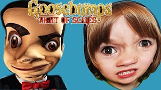 Goosebumps night of scares - Scariest iOS Game!!! zombies catch Gertit and Elvis