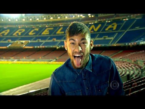 Neymar - Entrevista para o Esporte Espetacular - 21/12/2014