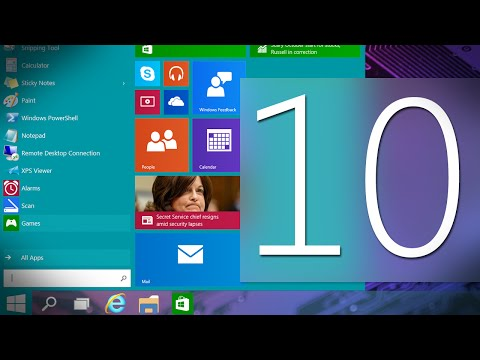 Windows 10 Demo (Technical Preview)