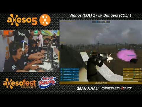 Final | Nanos vs Danger | Todos los mapas | AxesoFest 2013