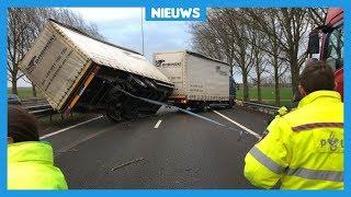 Zo trok de zware storm over Nederland