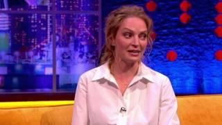 Quentin Tarantino scares Uma Thurman's Son At Dinner - The Jonathan Ross Show