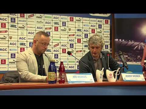 Tisková konference hostujícího týmu po utkání Teplice - Mladá Boleslav (13.4.2018)