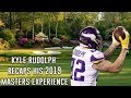 Kyle Rudolph Watched Tiger Woods Win The 2019 Masters