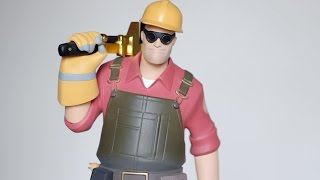 TF2 Red Engineer Exclusive Statue Review Gaming Heads