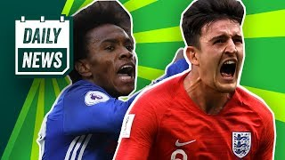 TRANSFER & WORLD CUP NEWS: Willian to Barcelona & England reach the semis ►  Daily Football News