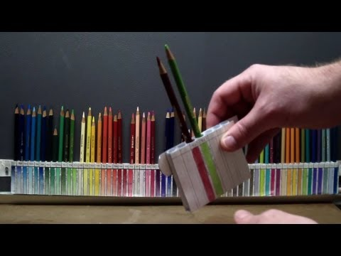 DIY: Custom pencil holder for PRISMACOLOR