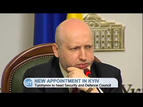Turchynov to Head Ukrainian Security Council: Turchynov previously served as interim president