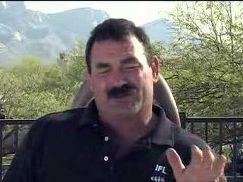 www.IFL.tv Don Frye - Ken Shamrock Mustache Controversy IFL Video