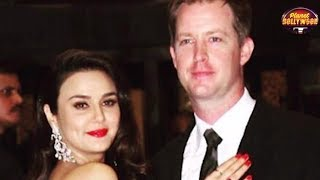 Preity Zinta's Hubby Gene Goodenough Upset With Her Unruly Behavior? | Bollywood News
