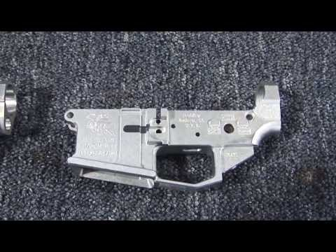 How Billet AR-15 Receivers Are Made  - Houlding Precision Firearms