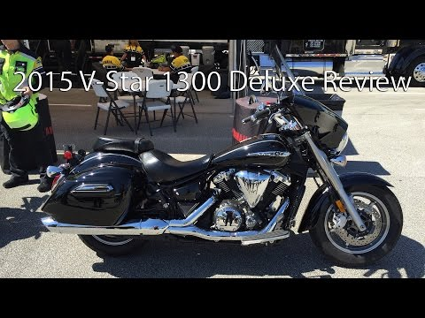 2015 Star V Star 1300 Deluxe Motorcycle Review