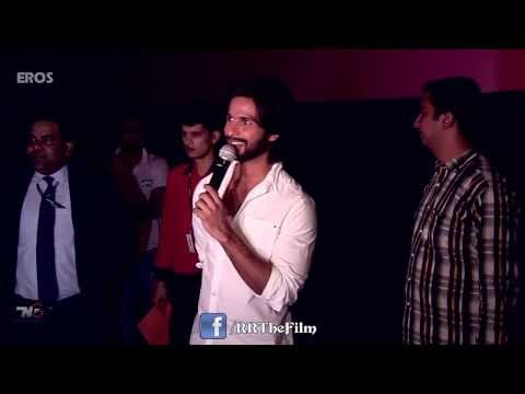 R...Rajkumar Fans Screening With Shahid Kapoor