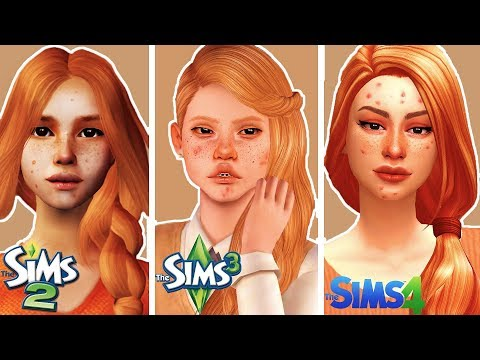 Create the same Sim in Sims 2, 3 & 4   Teen Version (with CC)