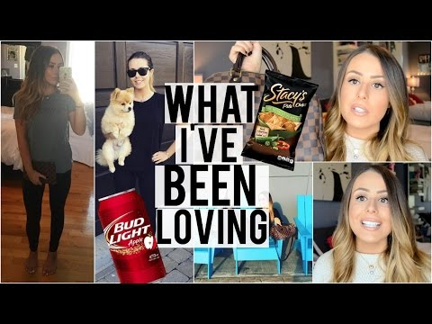 WHAT I'M LOVING RIGHT NOW! Beauty, Fashion, Lifestyle, Food