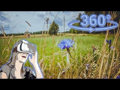 Панорамное Видео 360 VR 4K для очков виртуальной реальности. Интервальная съёмка (time Lapse)