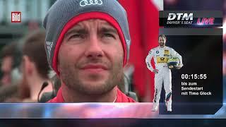 Timo Glock (BMW M4 DTM) - Driver's Seat - Race 2 - DTM Hockenheim 2015