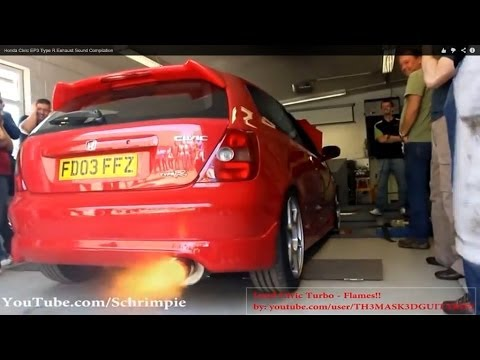 Honda Civic EP3 Type R Best Exhaust Sound Compilation!! *HD*