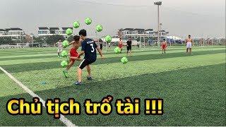 Thử Thách Bóng Đá Đỗ Kim Phúc vào sân 7 gánh Team Duy Trung và cái kết hài hước nhất Việt Nam