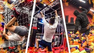 NINJA WARRIOR TRAMPOLIN CHALLENGE
