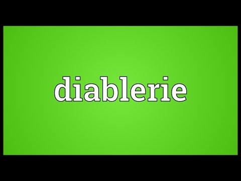 Header of diablerie