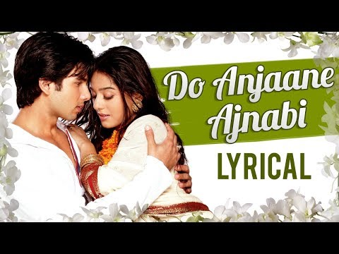 Do Anjaane Ajnabi Full Song LYRICAL | Vivah | Shahid Kapoor | Amrita Rao | Udit | Shreya