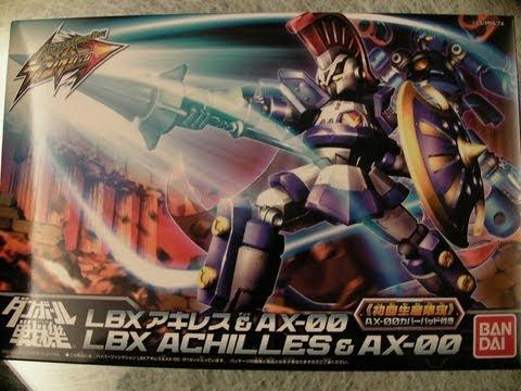 Level 5 / Bandai : Danball Senki - Hyper Function Achilles + AX-00  ダンボール戦機