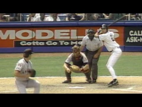 Jeter's first Yankee Stadium hit