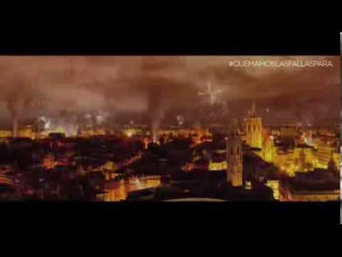 Fallas 2014. Amstel. #quemamoslasfallaspara. La respuesta a la gran pregunta de nuestras fiestas