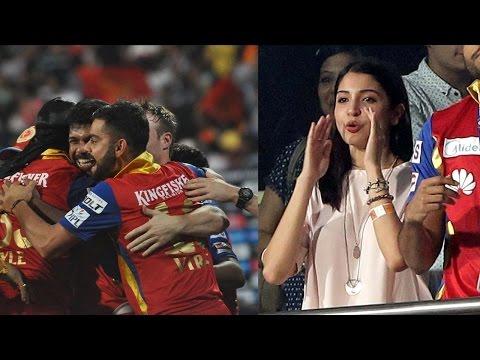 IPL 8: Anushka Sharma cheers for Virat Kohli