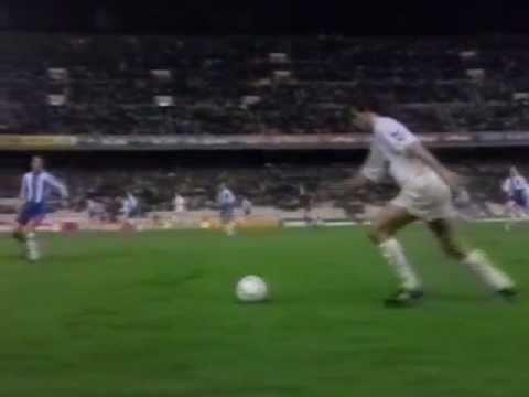 Espanyol - Real Madrid 1-5   Liga 1991-1992