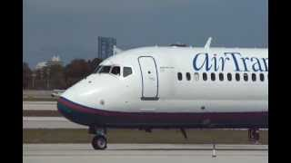 What's different about this AirTran Boeing 717?