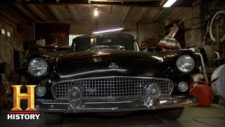 American Pickers: Rare '55 T-Bird in Vintage Ford Collection (Season 20) | Exclusive | History
