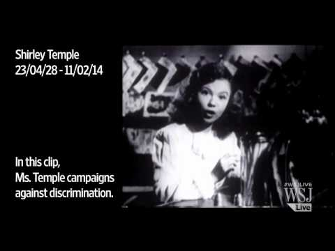 Child Star Shirley Temple Dies