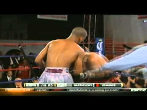 ESPN Friday Night Fights - January 4th 2013 - Arash Usmanee Vs Rances Barthelemy (Awful decision)