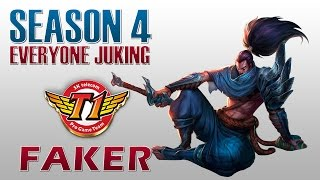SKT T1 Faker - Everyone Juking