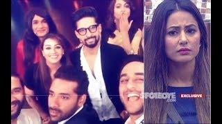 FAILURE EFFECT? Hina Khan Refuses To Shoot For Entertainment Ki Raat With Bigg Boss 11 Contestants
