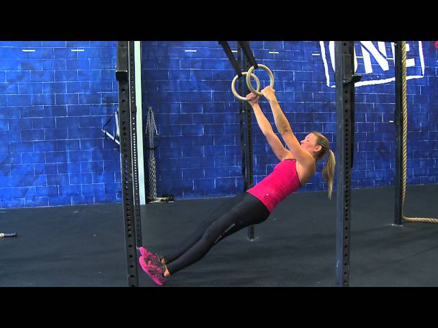 "Reebok CrossFit ONE Movement Demo ""Ring Row"""