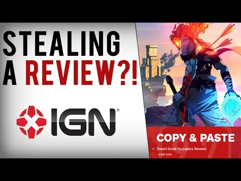 IGN Caught Stealing Small Youtubers Review of Single-Player Game Dead Cells...