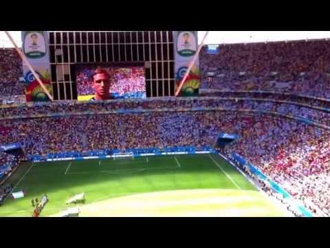Argentina x Belgium: Argentina's National Anthem