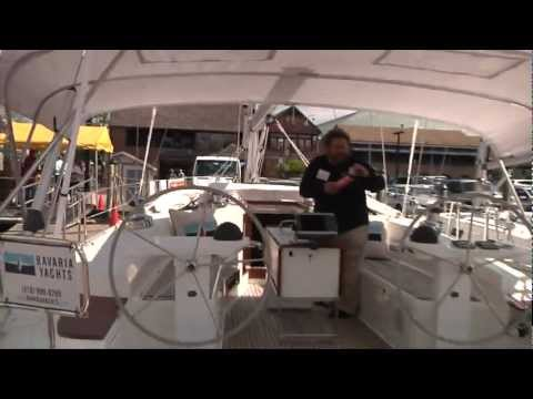 Bavaria 45 Cruiser. Spring Sailboat Show. Annapolis 4.27.2012 by ABK Video