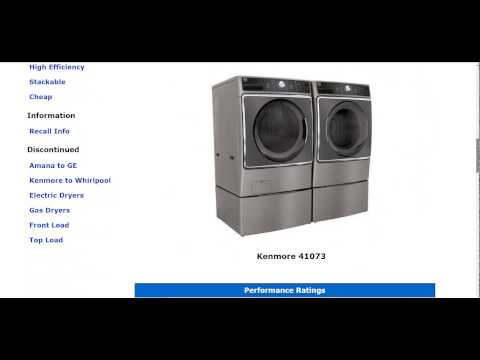 Kenmore 41073 Washer - Washing Machine Review - Updated